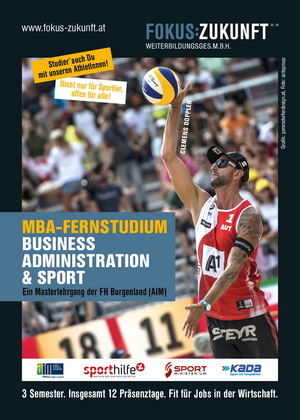 "MBA-Fernstudium Business ""Administration & Sport"""